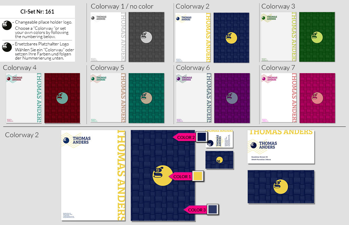 161 Stationery Corporate Design Geschaeftsausstattung Branding 2