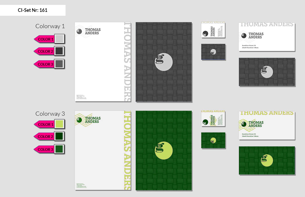 161 Stationery Corporate Design Geschaeftsausstattung Branding 3