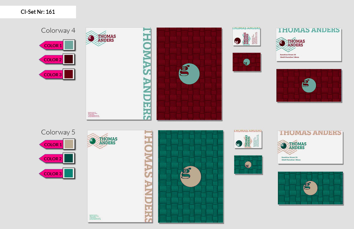 161 Stationery Corporate Design Geschaeftsausstattung Branding 4