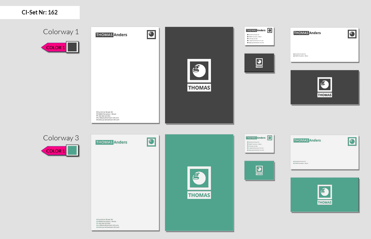162 Stationery Corporate Design Geschaeftsausstattung Branding 3
