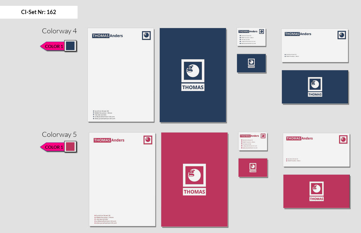 162 Stationery Corporate Design Geschaeftsausstattung Branding 4
