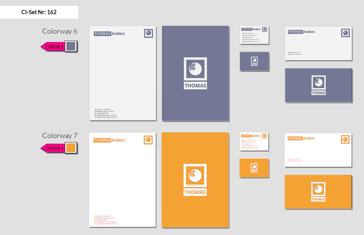 162 Stationery Corporate Design Geschaeftsausstattung Branding 5