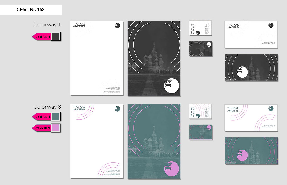 163 Stationery Corporate Design Geschaeftsausstattung Branding 3