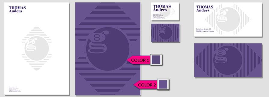 164 Stationery Corporate Design Geschaeftsausstattung Branding 1