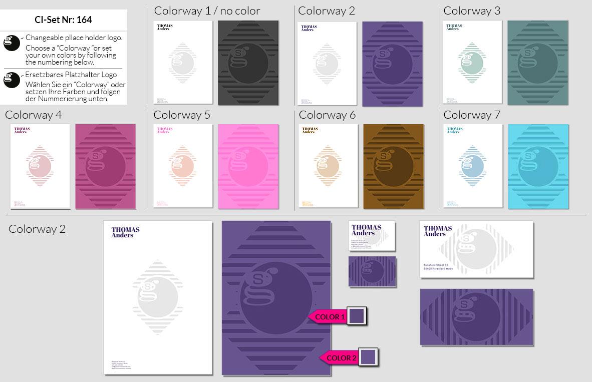 164 Stationery Corporate Design Geschaeftsausstattung Branding 2
