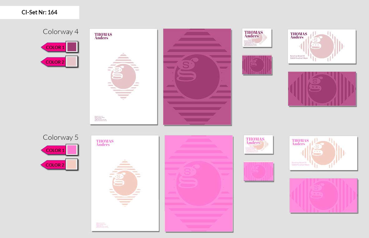 164 Stationery Corporate Design Geschaeftsausstattung Branding 4