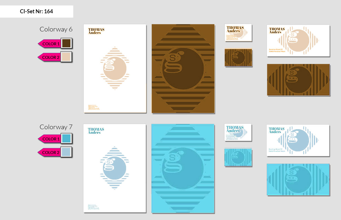 164 Stationery Corporate Design Geschaeftsausstattung Branding 5