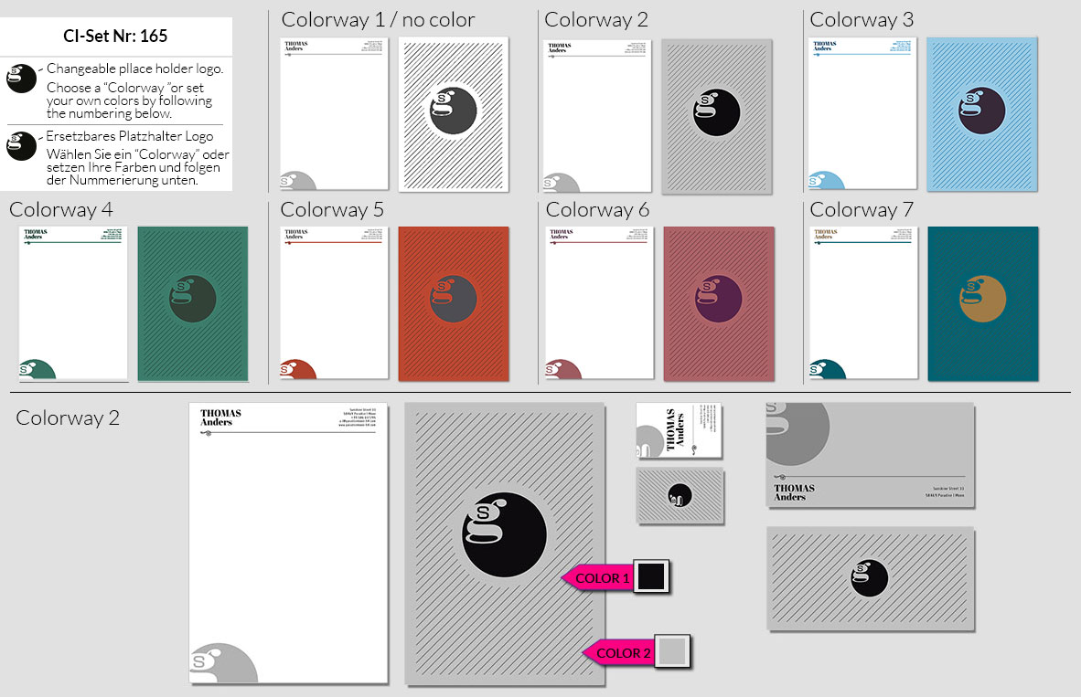 165 Stationery Corporate Design Geschaeftsausstattung Branding 2