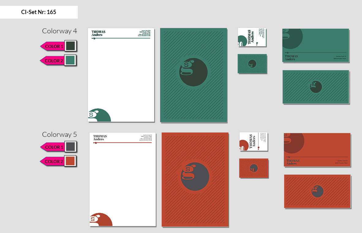 165 Stationery Corporate Design Geschaeftsausstattung Branding 4
