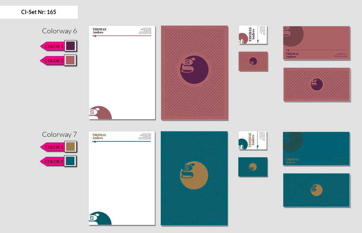 165 Stationery Corporate Design Geschaeftsausstattung Branding 5