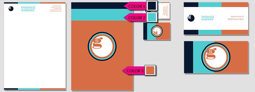 166 Stationery Corporate Design Geschaeftsausstattung Branding 1