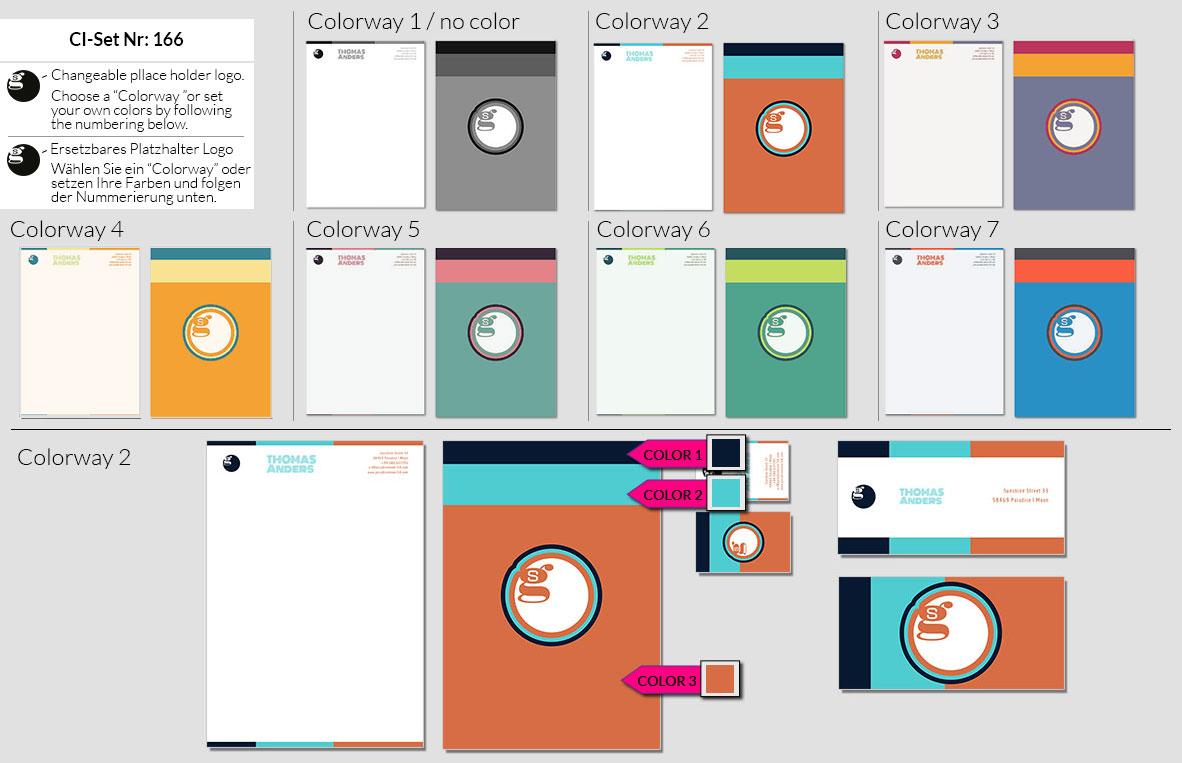166 Stationery Corporate Design Geschaeftsausstattung Branding 2