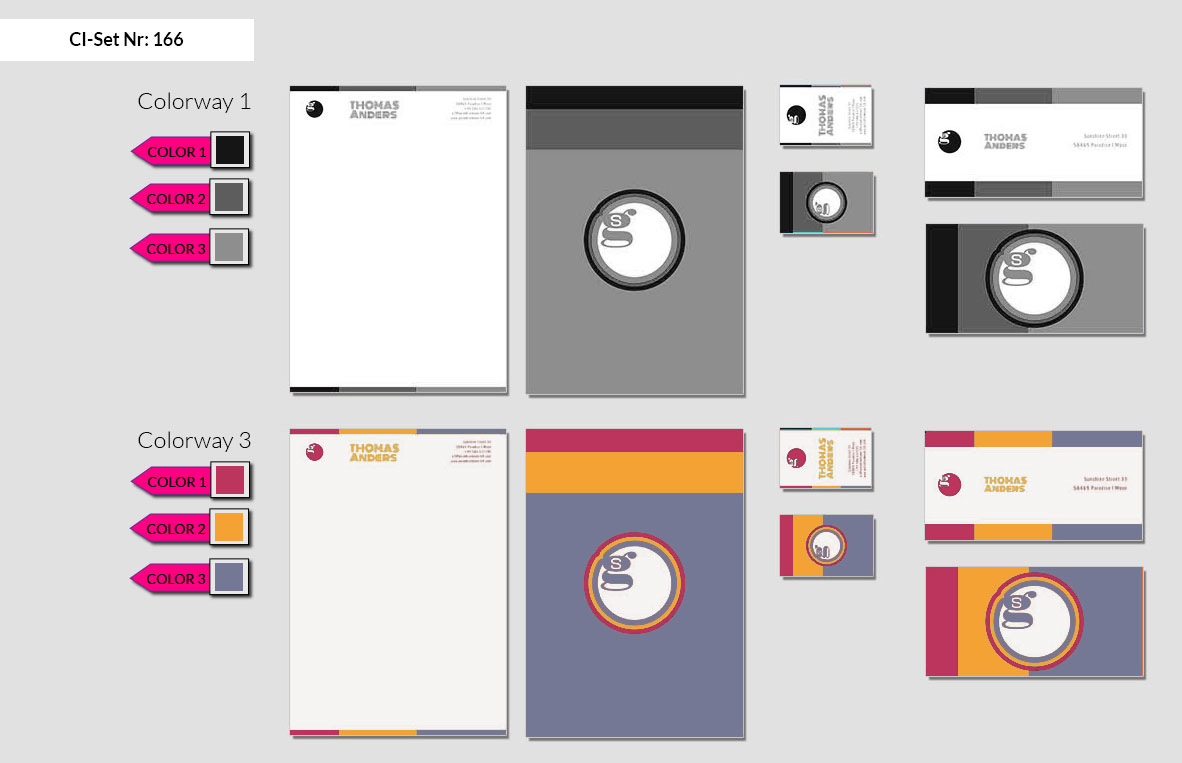 166 Stationery Corporate Design Geschaeftsausstattung Branding 3