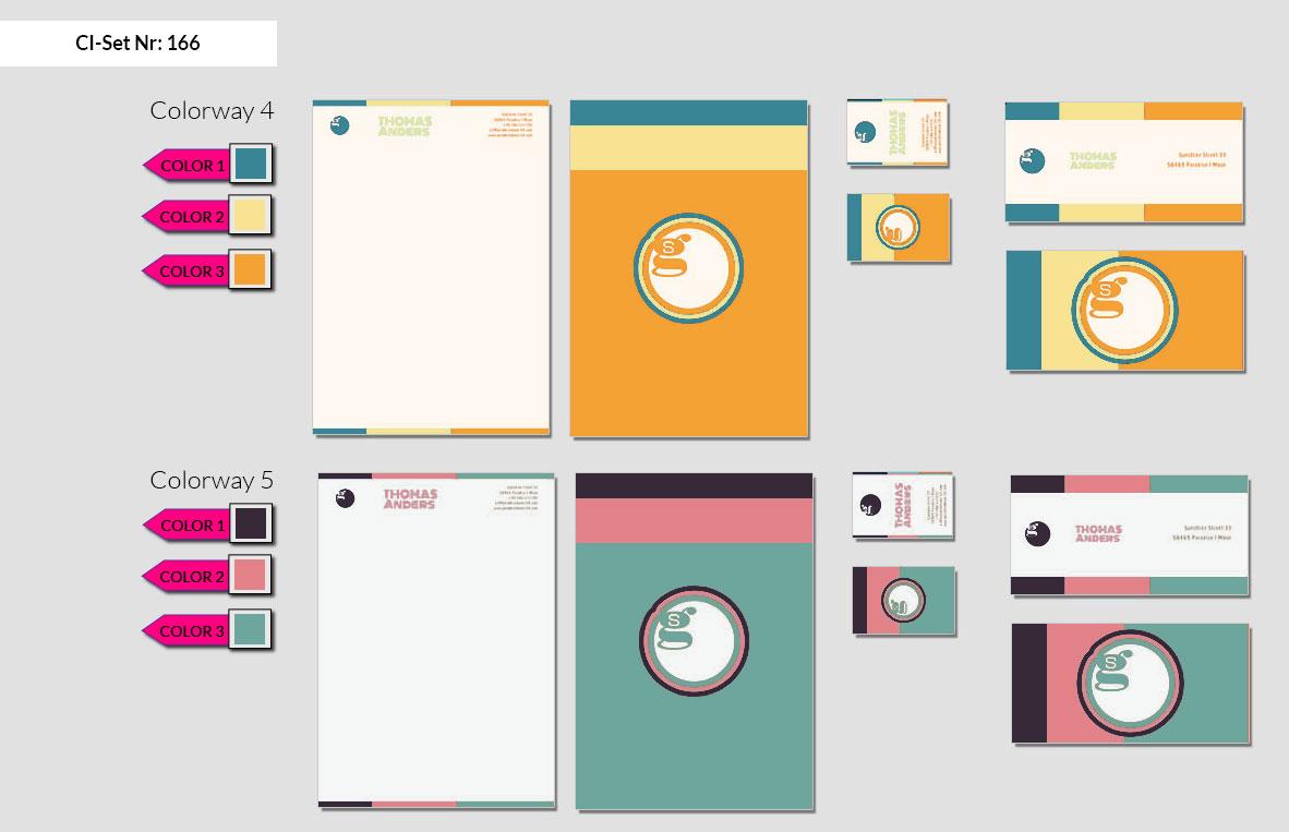 166 Stationery Corporate Design Geschaeftsausstattung Branding 4