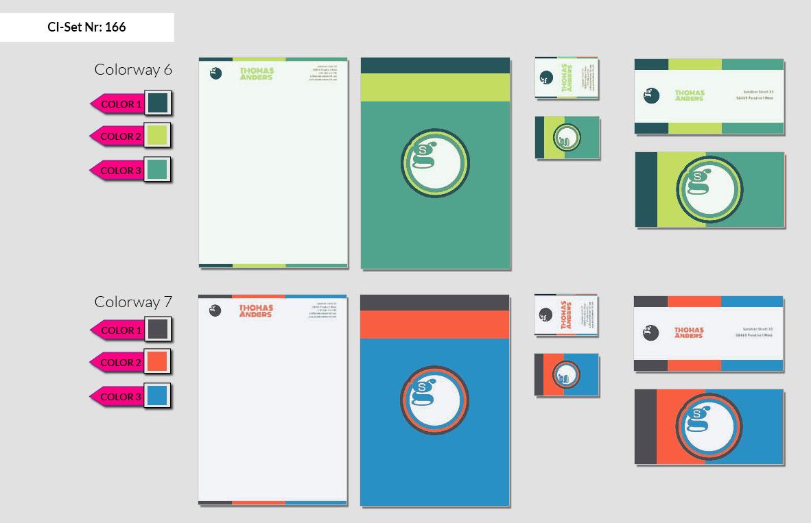 166 Stationery Corporate Design Geschaeftsausstattung Branding 5