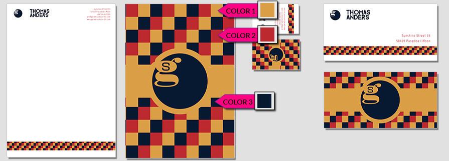 167 Stationery Corporate Design Geschaeftsausstattung Branding 1