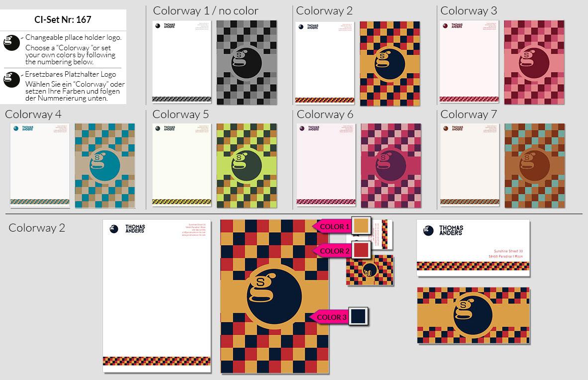 167 Stationery Corporate Design Geschaeftsausstattung Branding 2