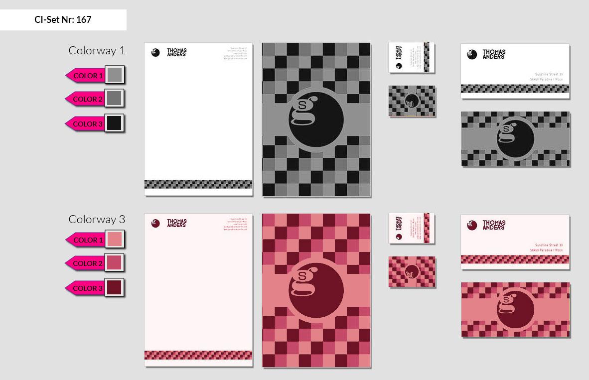 167 Stationery Corporate Design Geschaeftsausstattung Branding 3