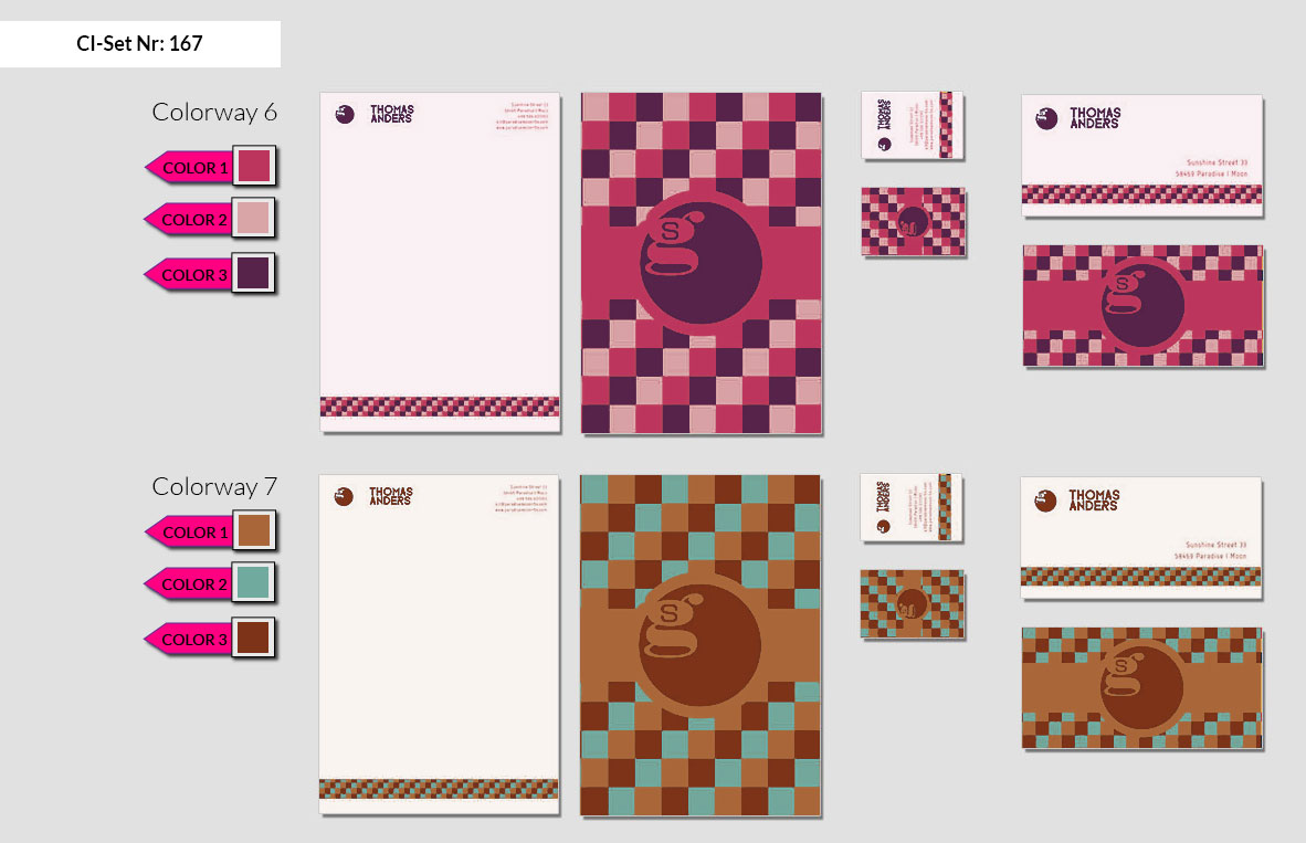 167 Stationery Corporate Design Geschaeftsausstattung Branding 5