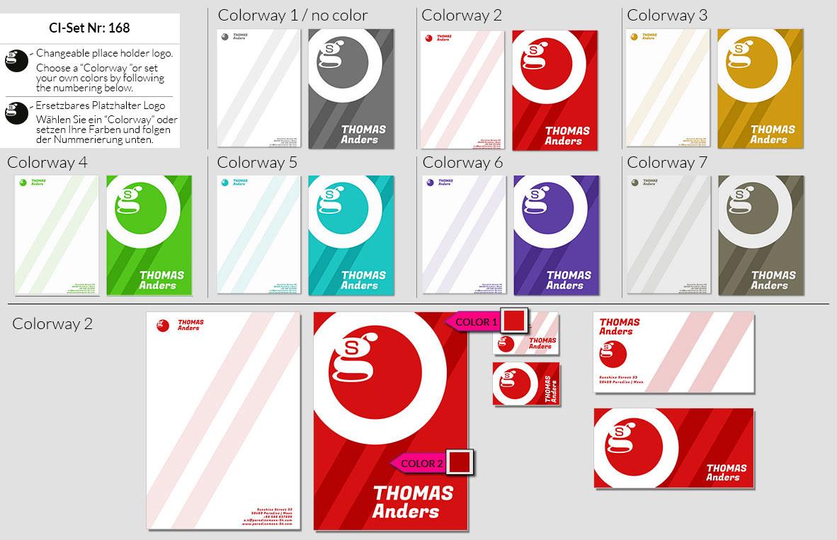 168 Stationery Corporate Design Geschaeftsausstattung Branding 2
