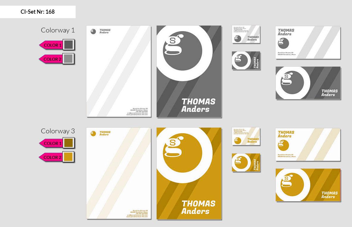 168 Stationery Corporate Design Geschaeftsausstattung Branding 3