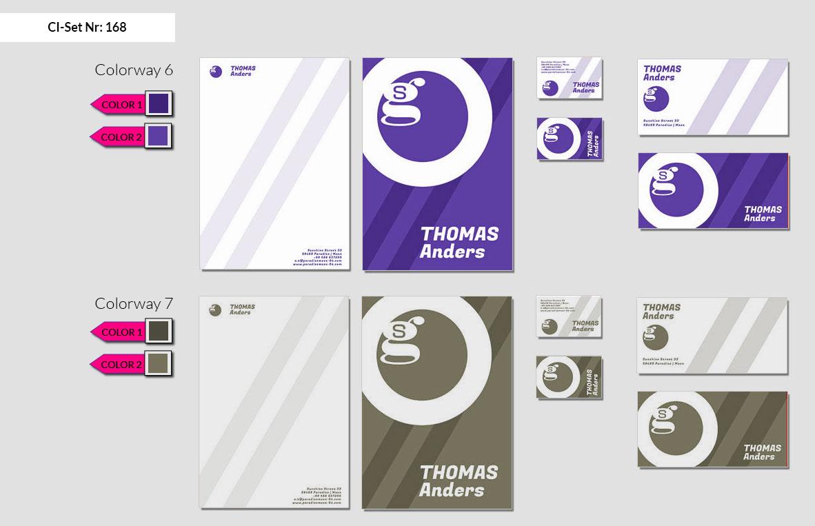 168 Stationery Corporate Design Geschaeftsausstattung Branding 5