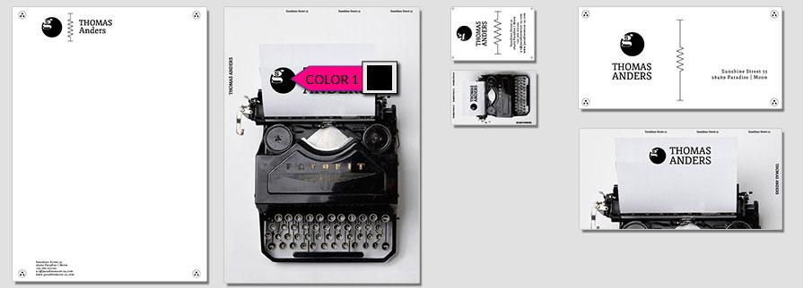 172 Stationery Corporate Design Geschaeftsausstattung Branding 1