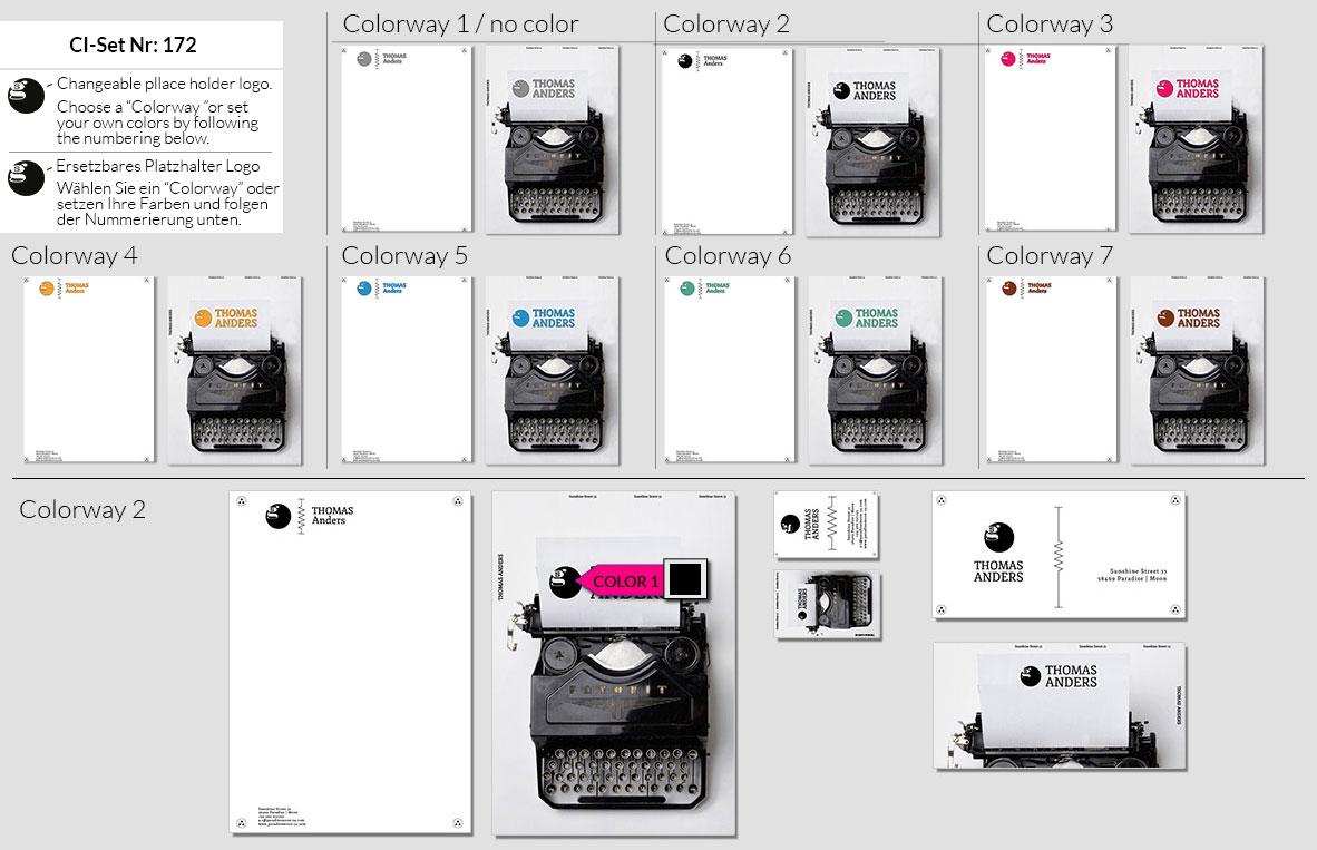 172 Stationery Corporate Design Geschaeftsausstattung Branding 2