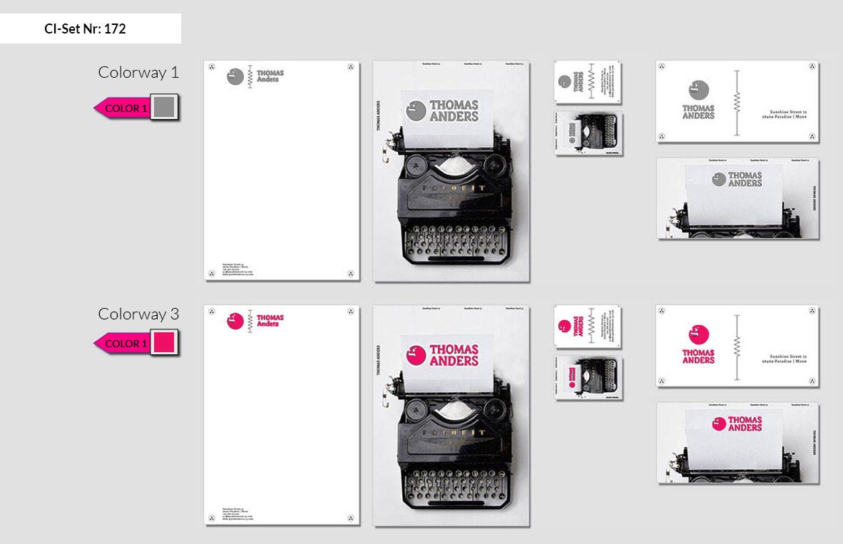 172 Stationery Corporate Design Geschaeftsausstattung Branding 3