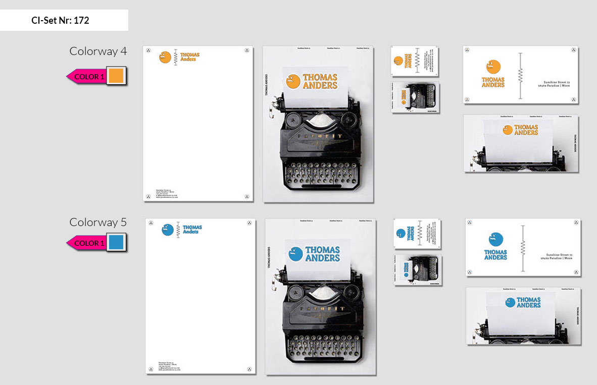 172 Stationery Corporate Design Geschaeftsausstattung Branding 4