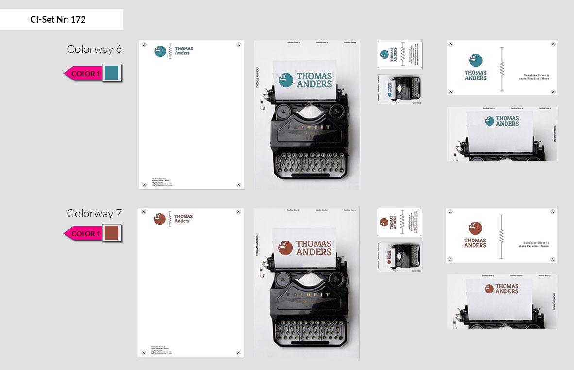 172 Stationery Corporate Design Geschaeftsausstattung Branding 6