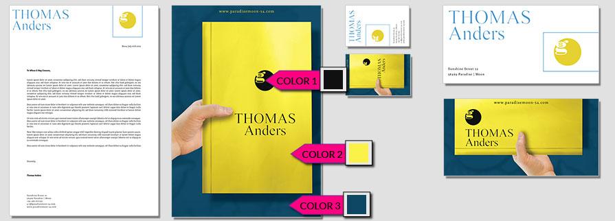 173 Stationery Corporate Design Geschaeftsausstattung Branding 1