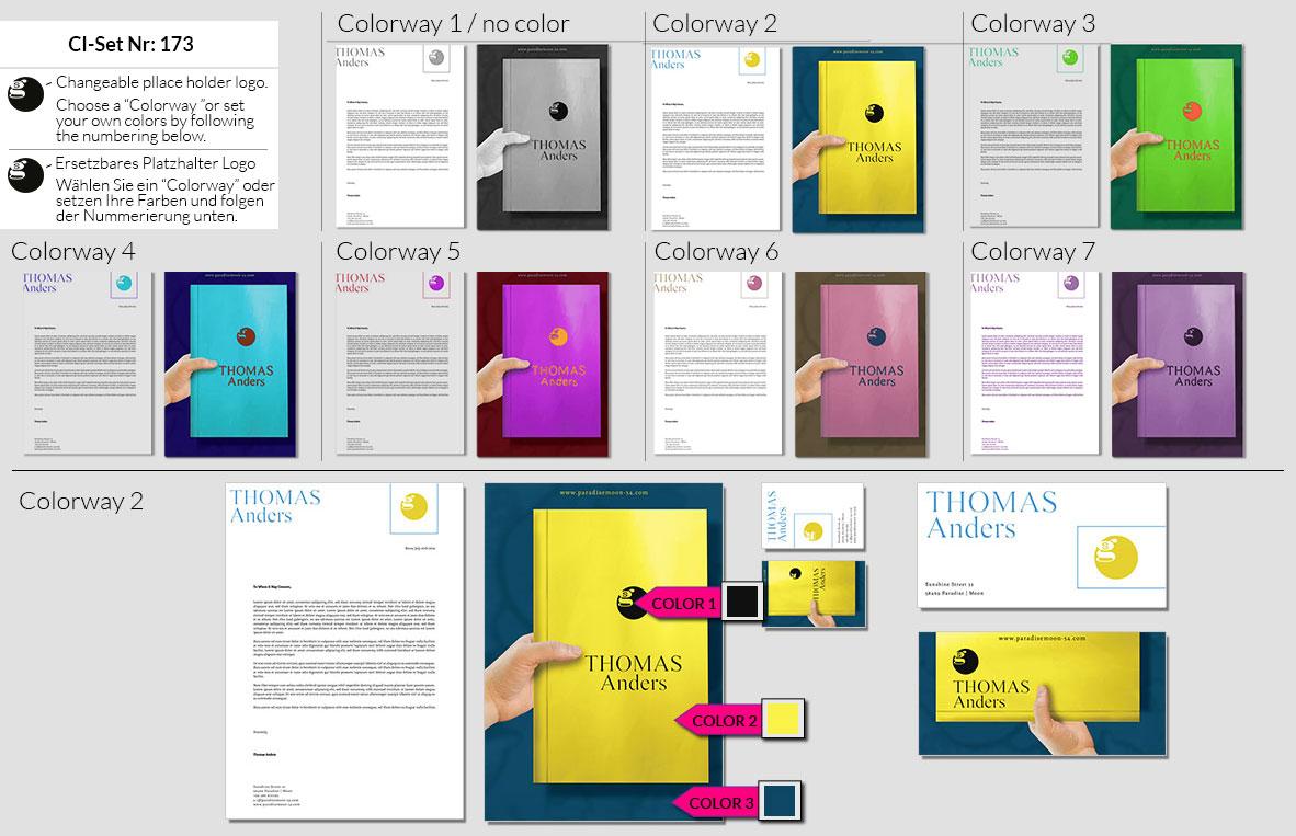 173 Stationery Corporate Design Geschaeftsausstattung Branding 2