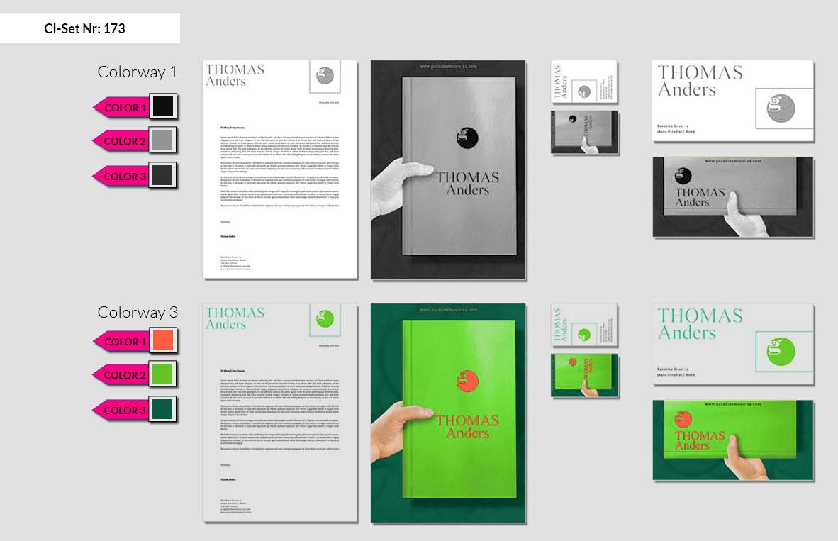 173 Stationery Corporate Design Geschaeftsausstattung Branding 3