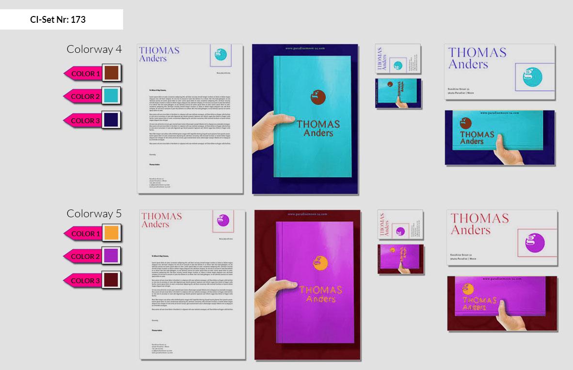 173 Stationery Corporate Design Geschaeftsausstattung Branding 4