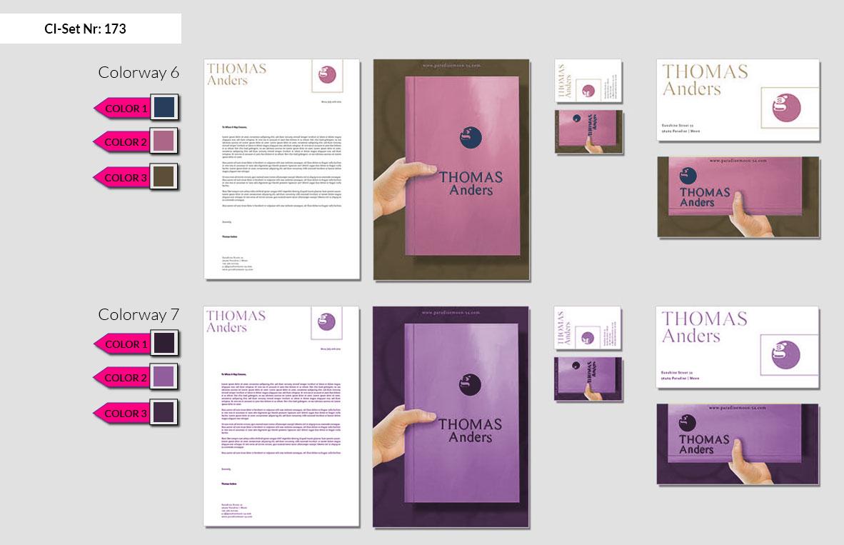 173 Stationery Corporate Design Geschaeftsausstattung Branding 5