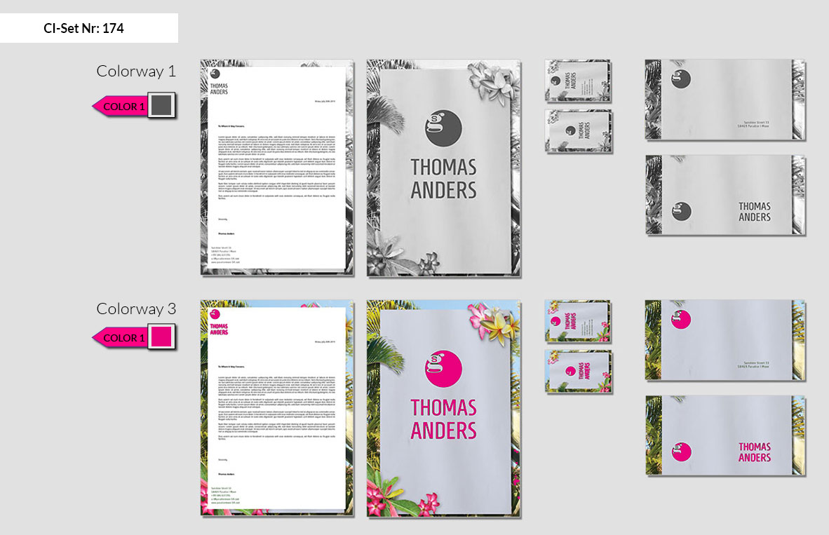 174 Stationery Corporate Design Geschaeftsausstattung Branding 3