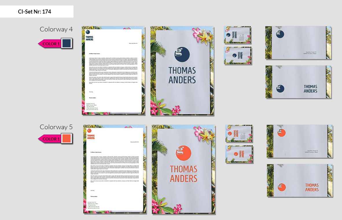 174 Stationery Corporate Design Geschaeftsausstattung Branding 4