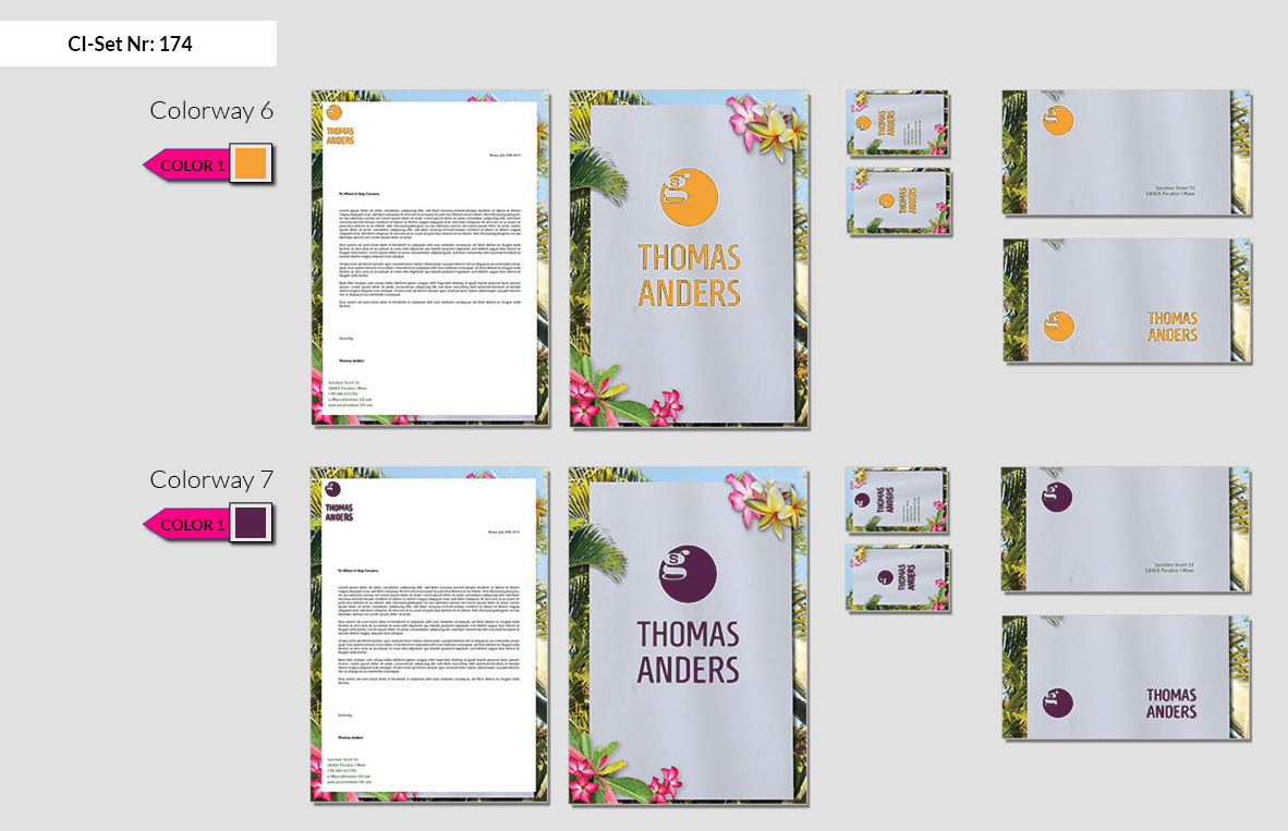 174 Stationery Corporate Design Geschaeftsausstattung Branding 5