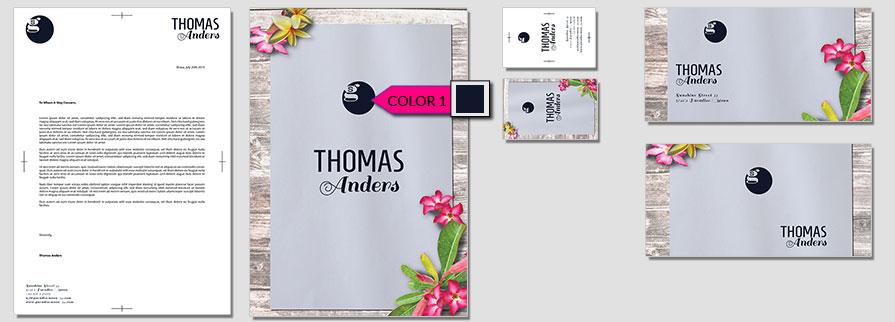 175 Stationery Corporate Design Geschaeftsausstattung Branding 1
