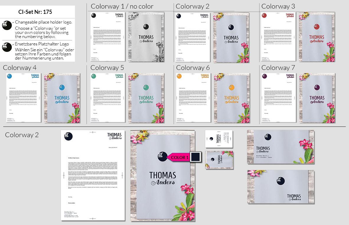 175 Stationery Corporate Design Geschaeftsausstattung Branding 2