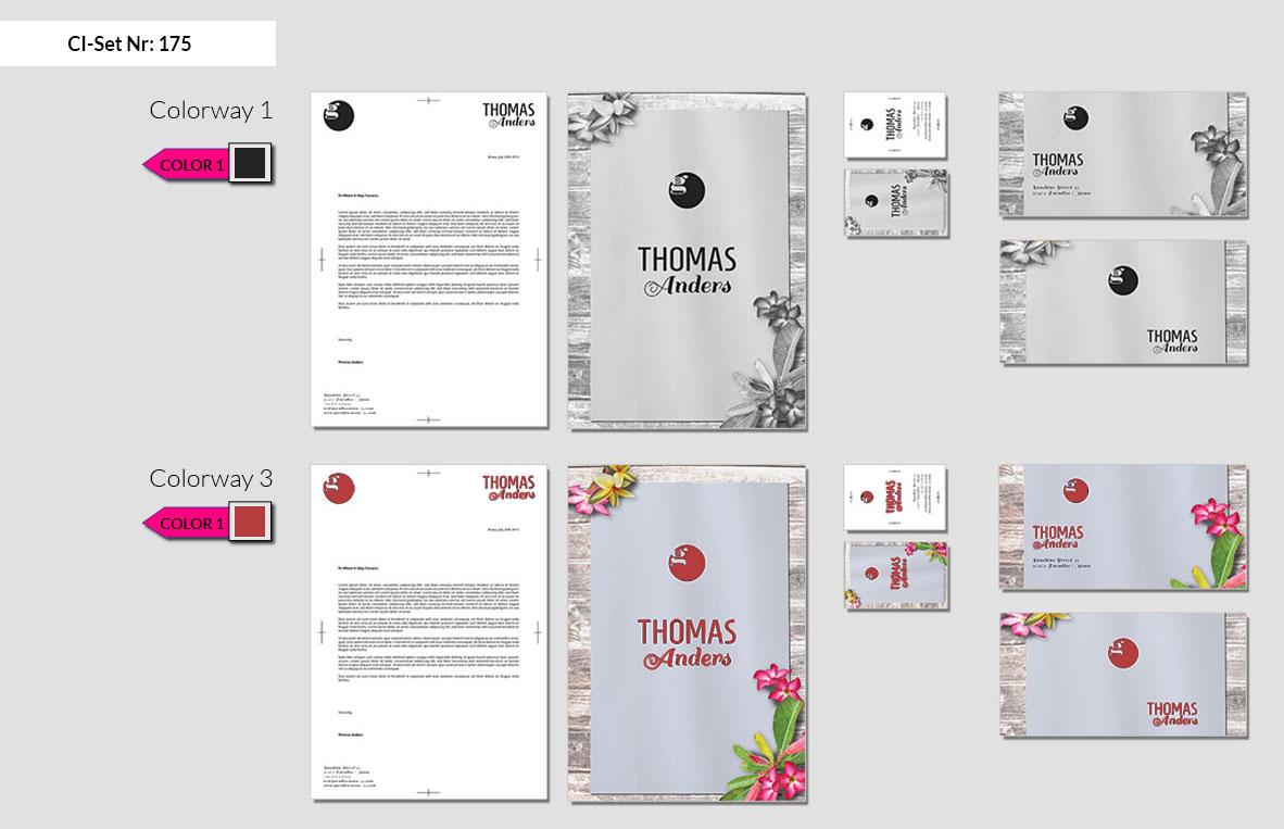 175 Stationery Corporate Design Geschaeftsausstattung Branding 3