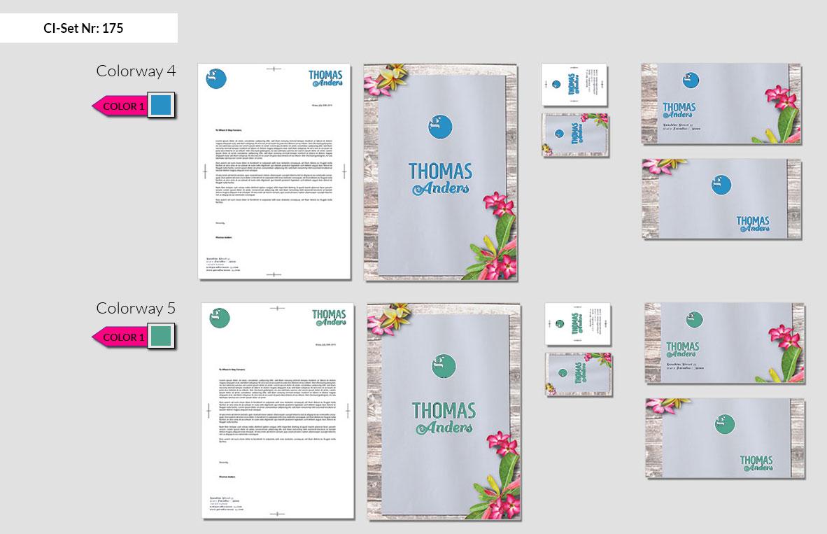 175 Stationery Corporate Design Geschaeftsausstattung Branding 4