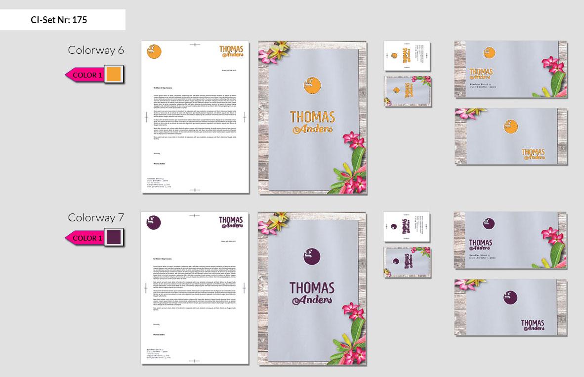 175 Stationery Corporate Design Geschaeftsausstattung Branding 5