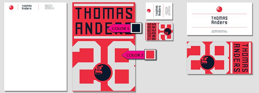176 Stationery Corporate Design Geschaeftsausstattung Branding 2
