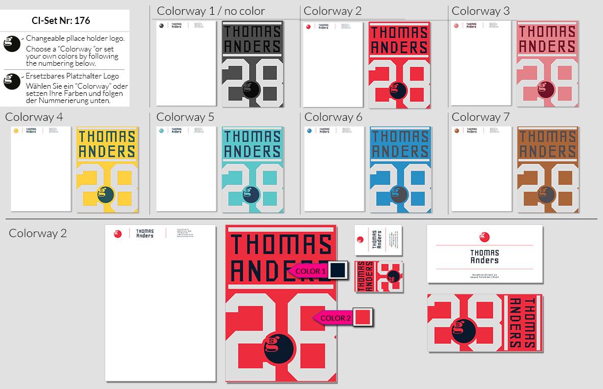 176 Stationery Corporate Design Geschaeftsausstattung Branding 3