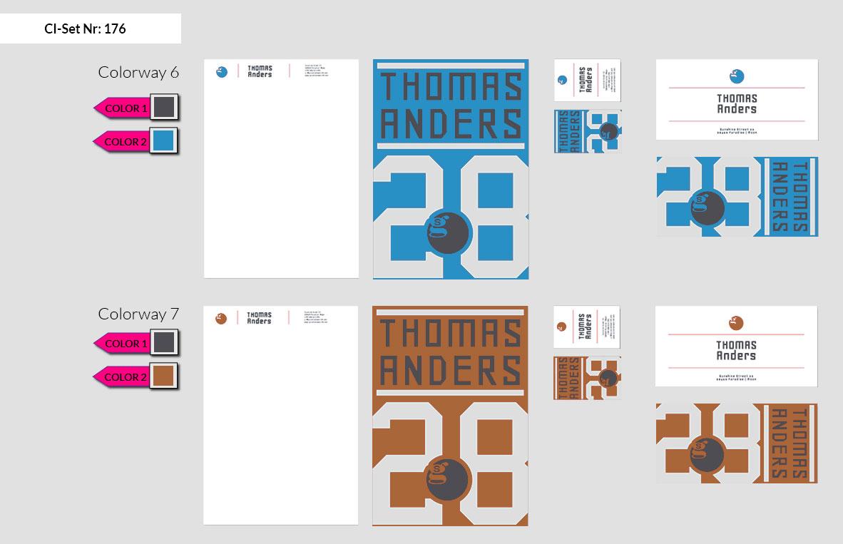 176 Stationery Corporate Design Geschaeftsausstattung Branding 6