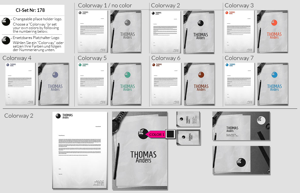178 Stationery Corporate Design Geschaeftsausstattung Branding 2