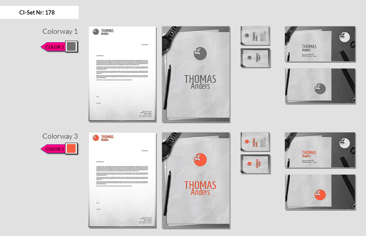 178 Stationery Corporate Design Geschaeftsausstattung Branding 3