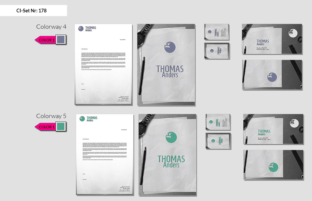 178 Stationery Corporate Design Geschaeftsausstattung Branding 4